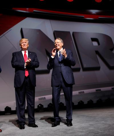 NRA Executives with President Donald Trump