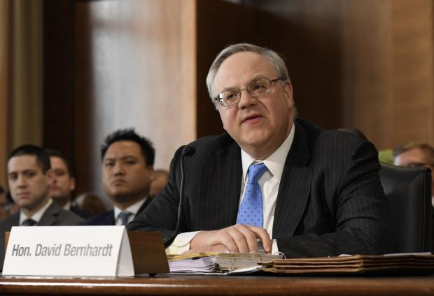 U.S. Acting Secretary of the Interior David Bernhardt
