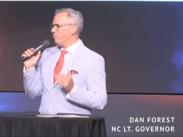 "On June 23, 2019, Dan Forest, who is running for governor, delivered a sermon in which he stated, ""no other nation, my friends, has ever survived the diversity and multiculturalism that America faces today, because of a lack of assimilation, because of this division, and because of this identity politics."""